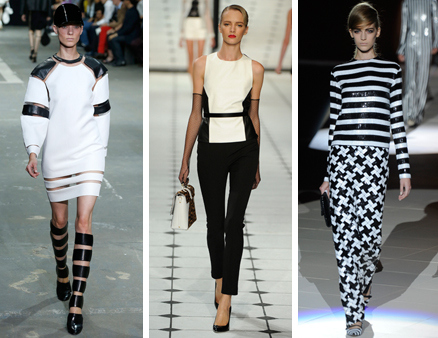 Marc Jacobs Spring 2013 Black and White Trend