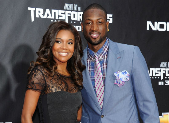 Dwayne-Wade-and-Gabriel-Union-Engaged