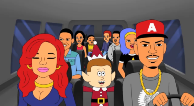 T.I. and Tiny Set To Air Holiday Cartoon Special on VH1