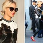 Black Glamour Mom Fashion Crush: Leather Pants