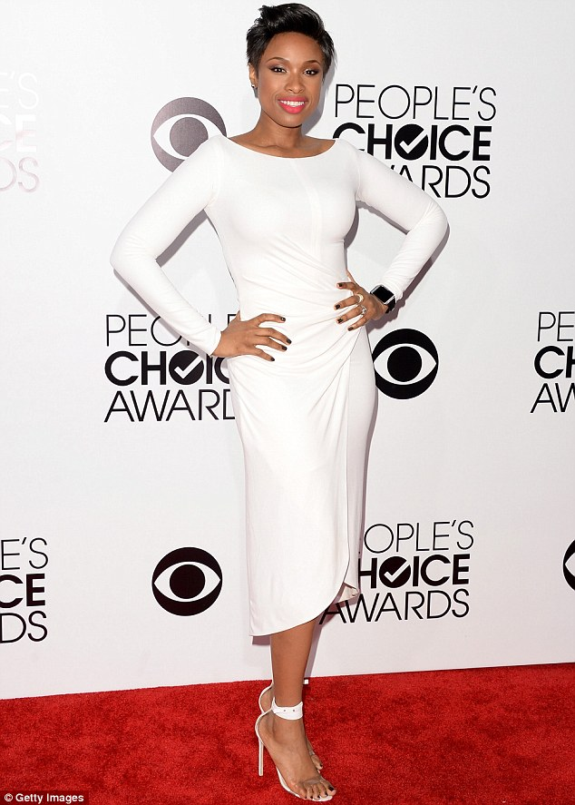 Jennifer Hudson at Peoples Choice Awards