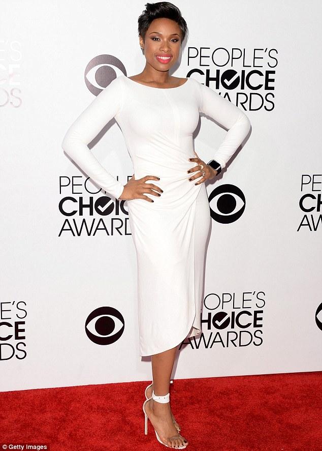 Jennifer Hudson at Peoples Choice Awards