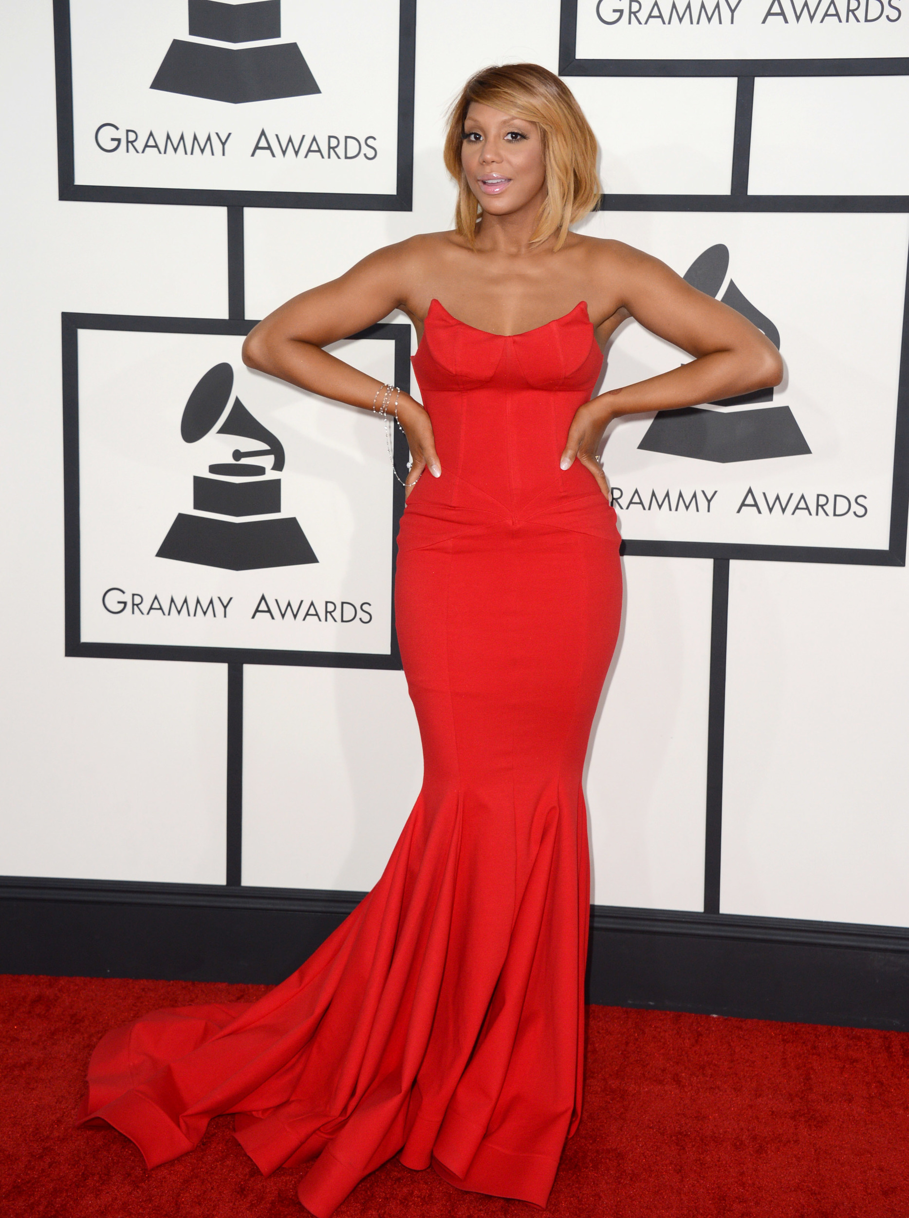 Celeb Moms Work Their Red Carpet Fashions During Grammy Awards