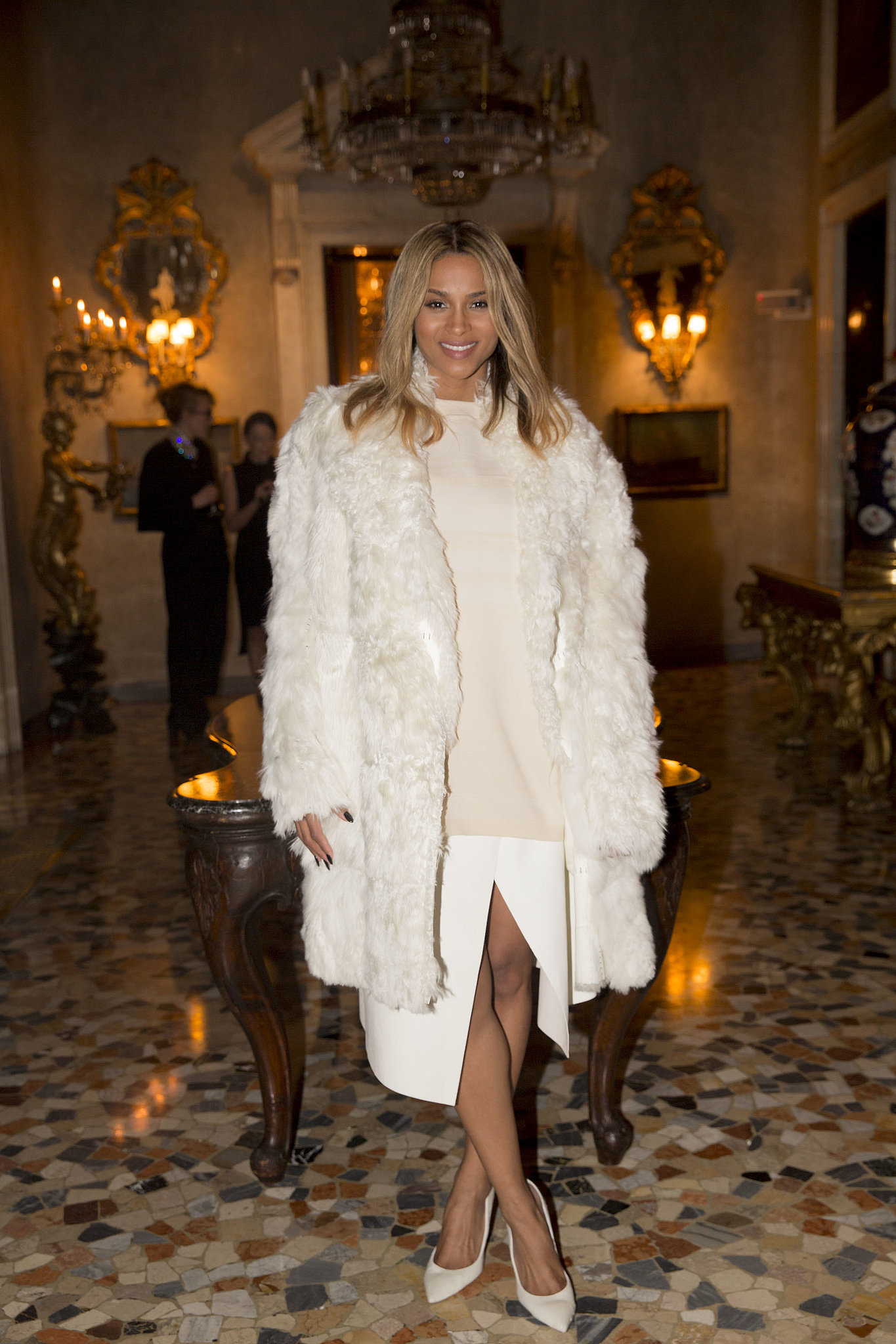 Celeb Moms: Singer Ciara Shares Pic Of Her All-White Nursery