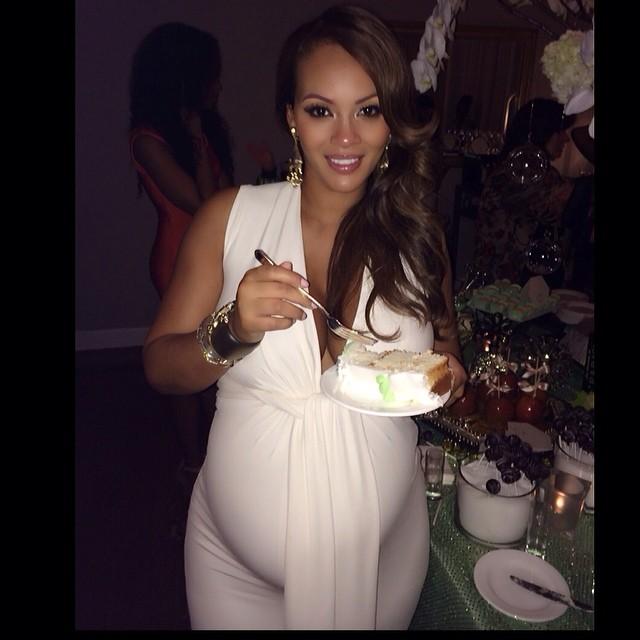 Evelyn Lozada's 'Diaper & Diamond' Themed Baby Shower