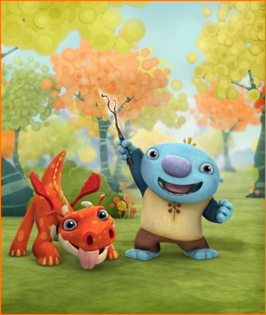 Nickelodeon's Brand-New Animated Series WallyKazam! Debuts Today