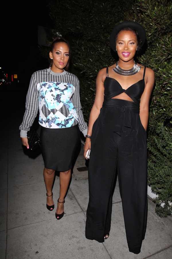 Spotted: Model Eva Marcille Shows Off Post-Baby Body During Recent Date Night
