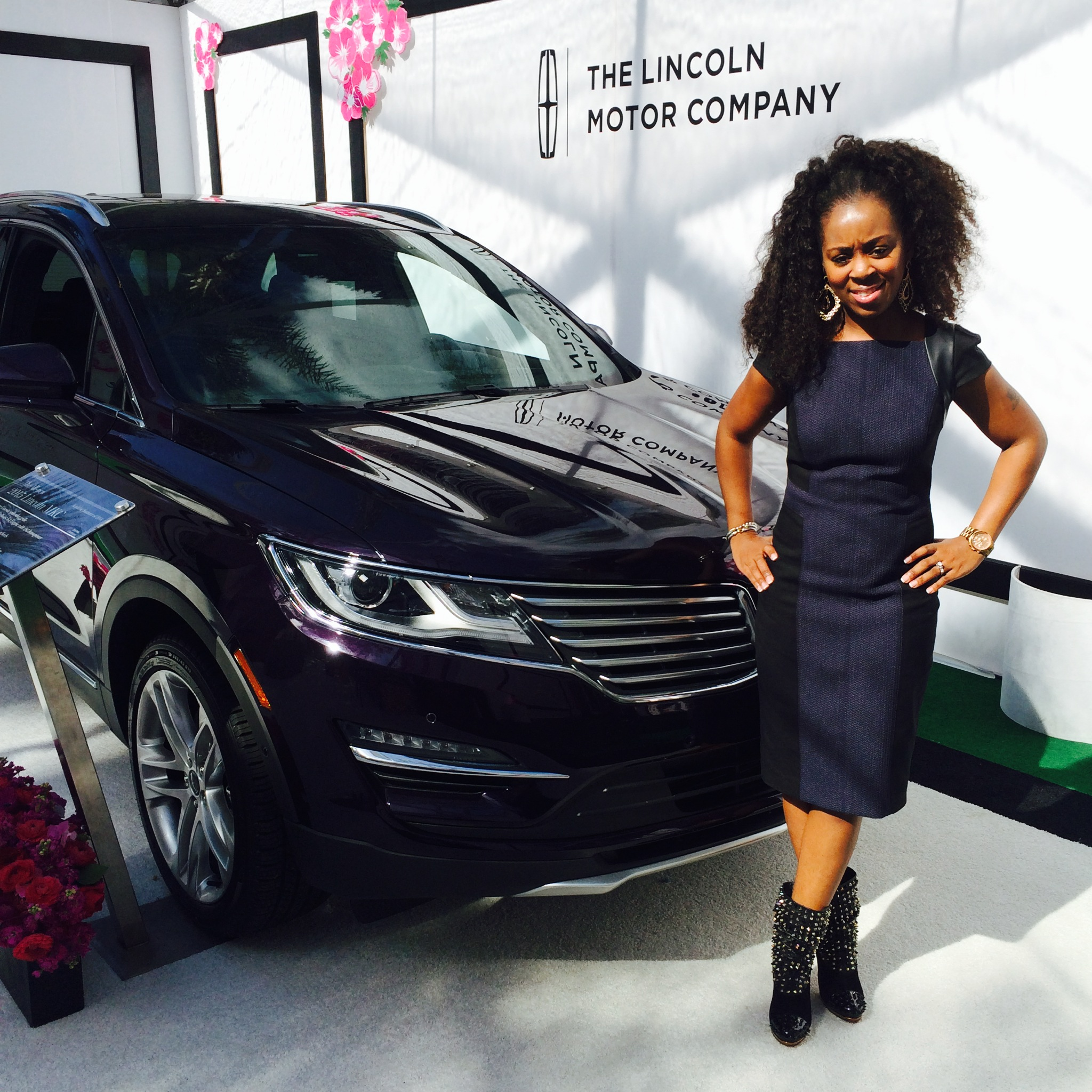 What BlackGlamourMom Wore:  Oscar's Red Carpet Luncheon