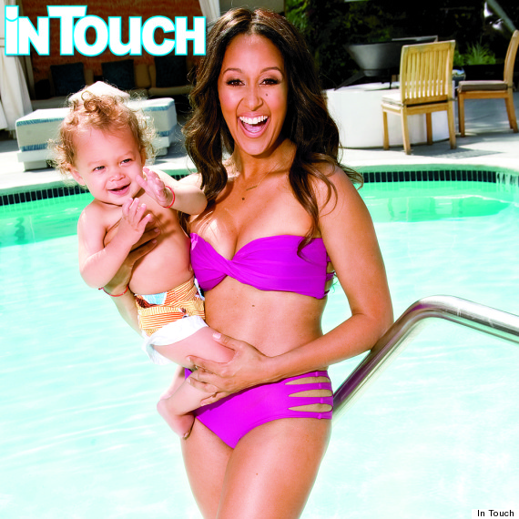 Tamera Mowry-Hously Rocks Hot Pink Bikini In Newest Issue of In Touch Magazine