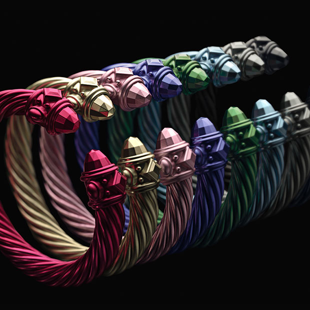 BGM Fashion Crush: Cable Reimagined-Aluminum