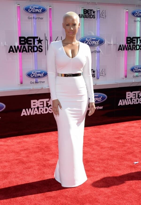 Amber Rose at 2014 BET Awards