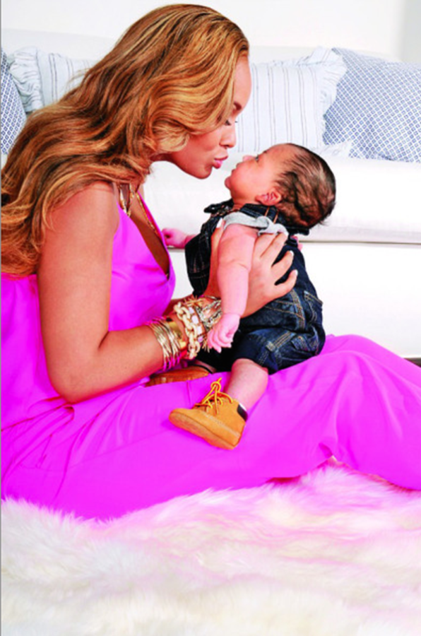 Evelyn Lozada Baby Pic First.1