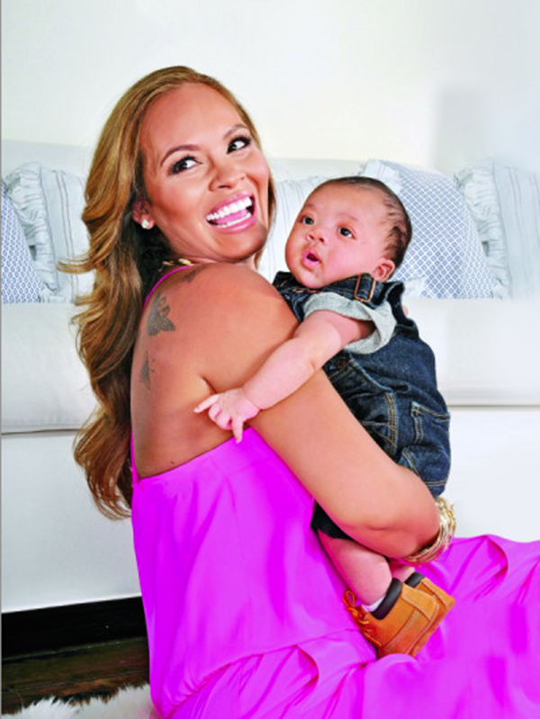 CelebMommy News: Evelyn Lozada Shows Off Adorable First Pics of Son