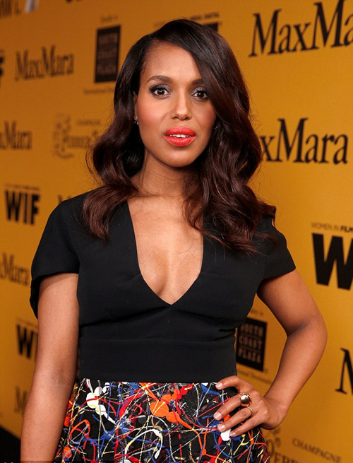 Kerry Washington Red Carpet Post Baby 1