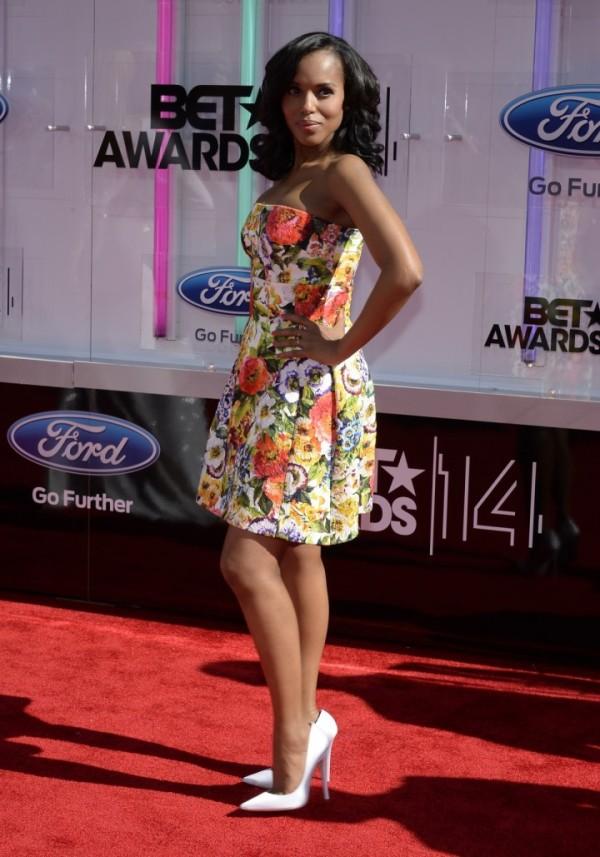 Kerry Washington at 2014 BET Awards