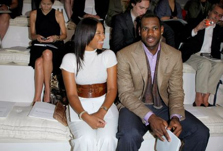 Lebron and Savannah James Image
