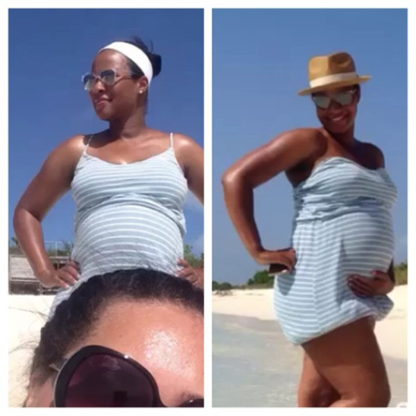 Savannah James Baby Bump