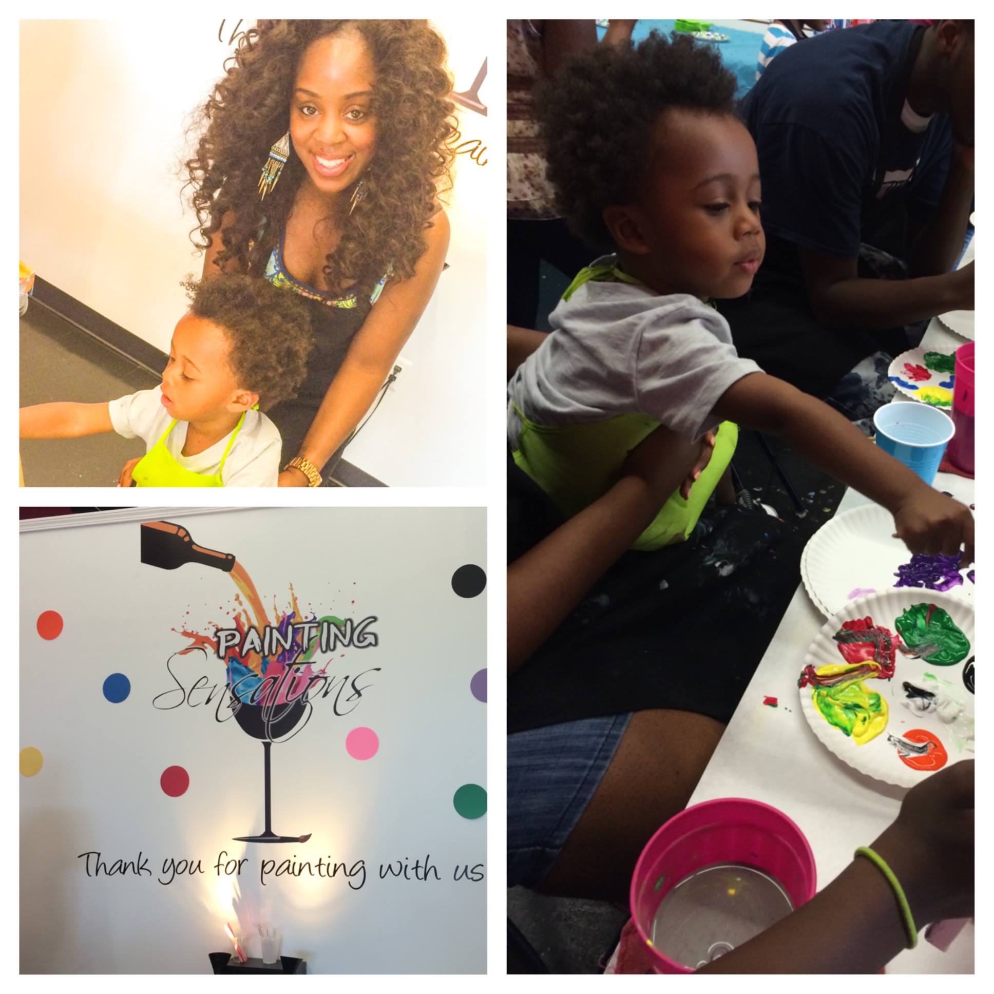 Paint + Kids + Birthday= Not Your Ordinary Kids Birthday Bash!