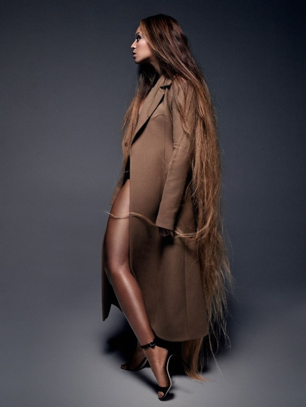 Beyonce CR Fashion Book Trench