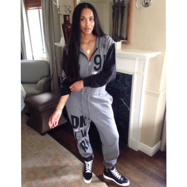 Celeb News: Ciara Hangs Out In NYC Over The Weekend; Pushes Son in Orbit Baby G3
