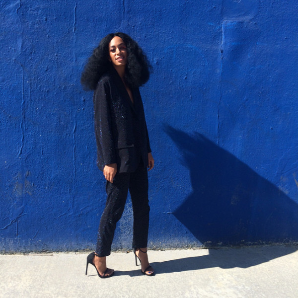 Solange Knowles Big Hair