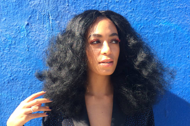 BGM Beauty Crush: I Love Solange Knowles Big Hair!