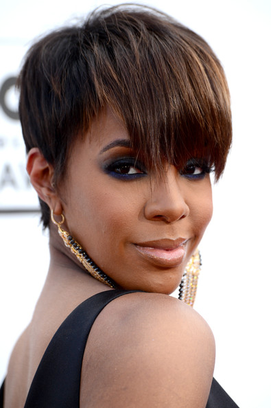 Kelly Rowland and Pixie Cut