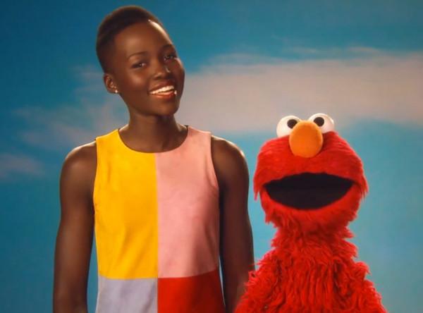 Lupita Nyongo and Sesame Street