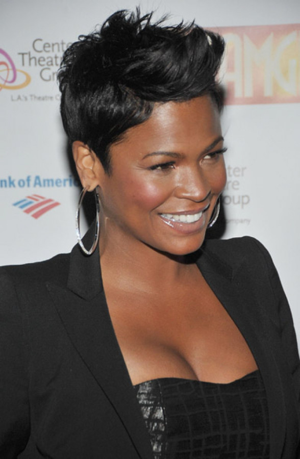 Nia Long and Pixie Cut