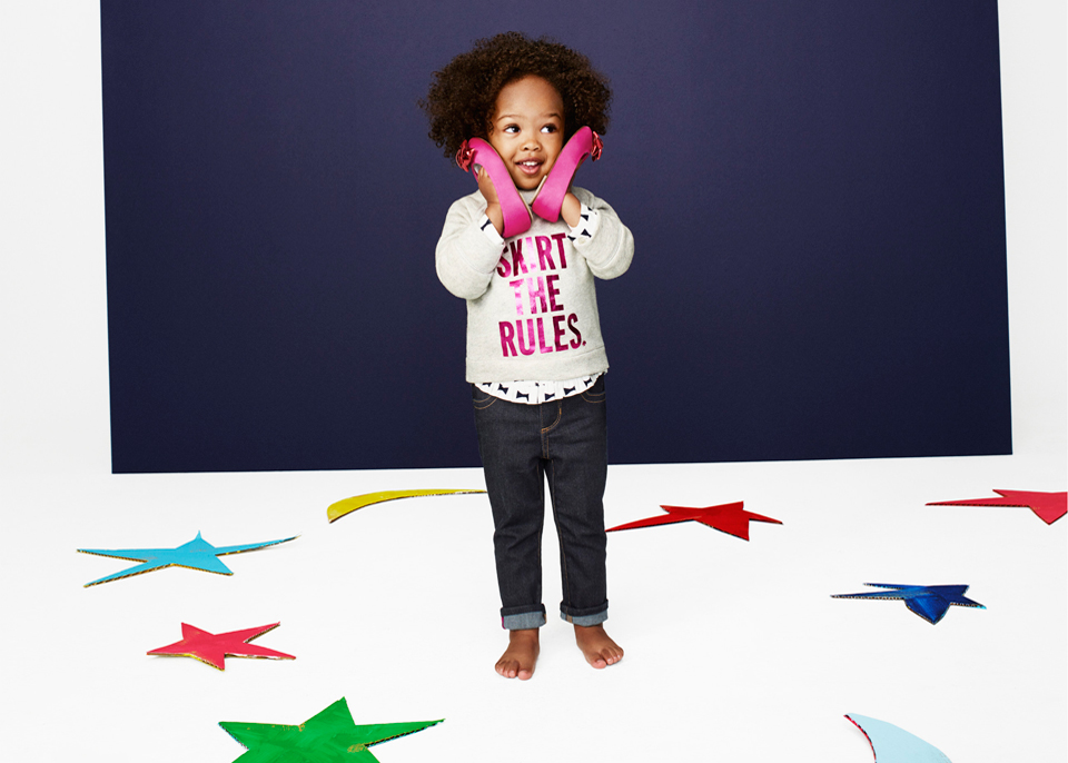 Fashionable Kids Alert: GapKids X Kate & Jack Spade Collabo Hits Stores Today