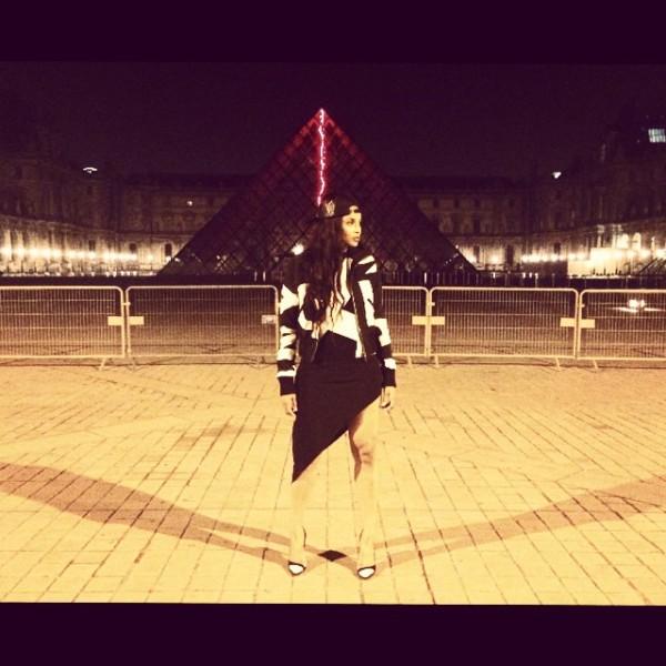 Ciara Paris Fashion Week 3