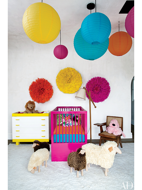 BGM Home Inspiration: Actress Ellen Pompeo's Colorful Children's Rooms