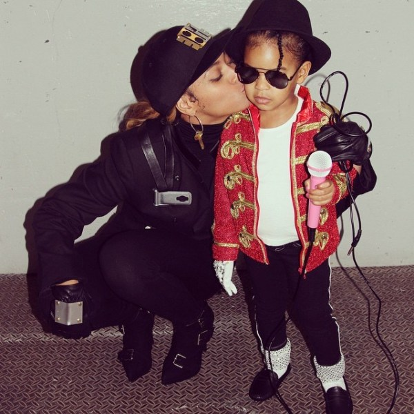 Beyonce and Blue Halloween