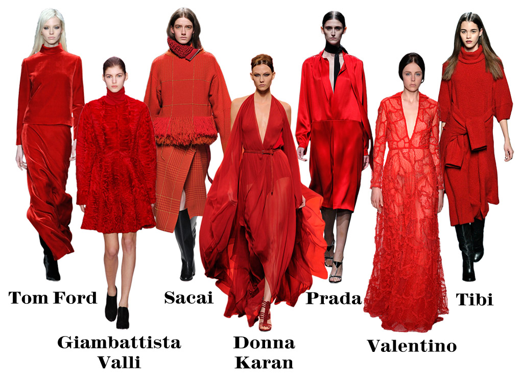 BlackGlamourMom Trend Alert: Red Is The New Black