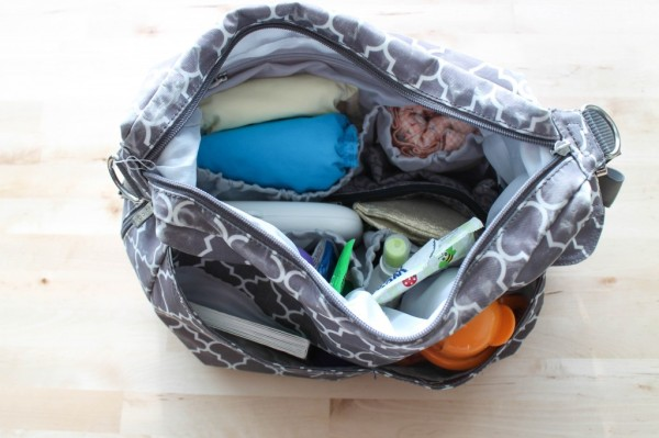 Stuffed Diaper Bag