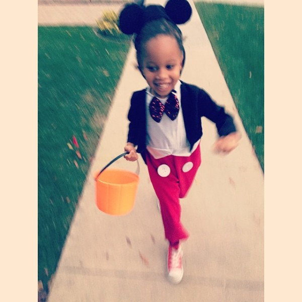 Tia Mowry Sons as Mickey Mouse