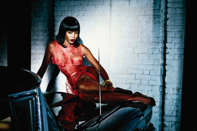 BGM Fashion Scoop: Naomi Campbell New Face of Agent Provocateur Lingerie