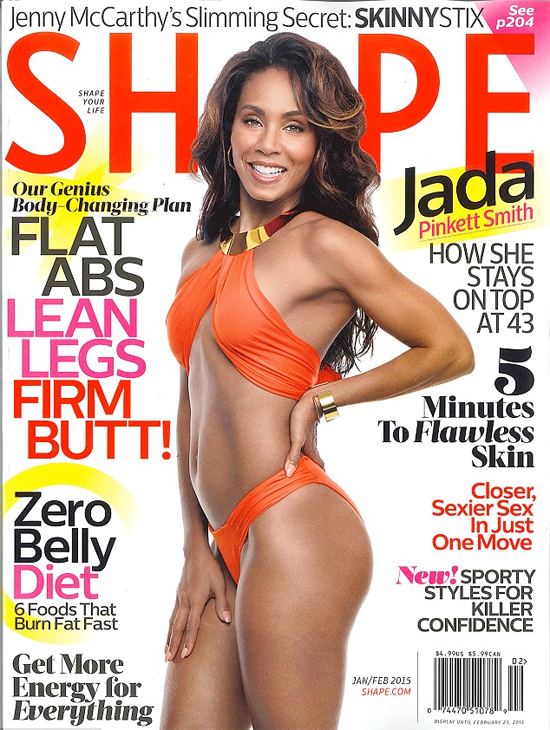 Fitness Motivation: Jada Pinkett Smith Covers SHAPE Magazine