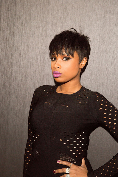 Jennifer Hudson Nails The MiniDress + Thigh High Boot Combo