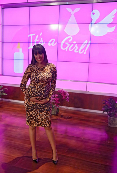Tamera Mowry Baby Girl Image 1