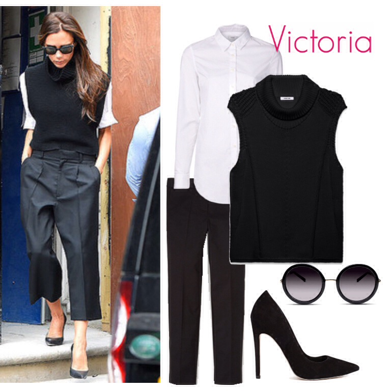 BlackGlamourMom Get The Look: Victoria Beckham