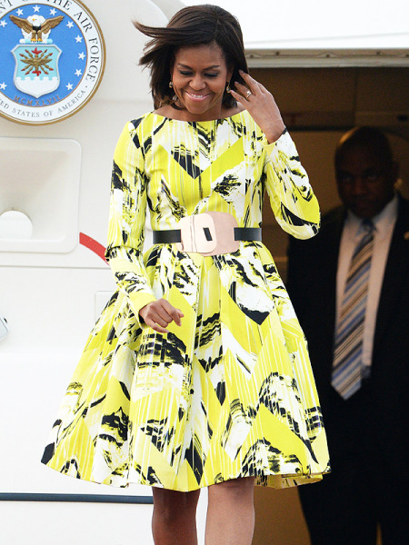 michelle-obama-600x800 Kenzo Dress