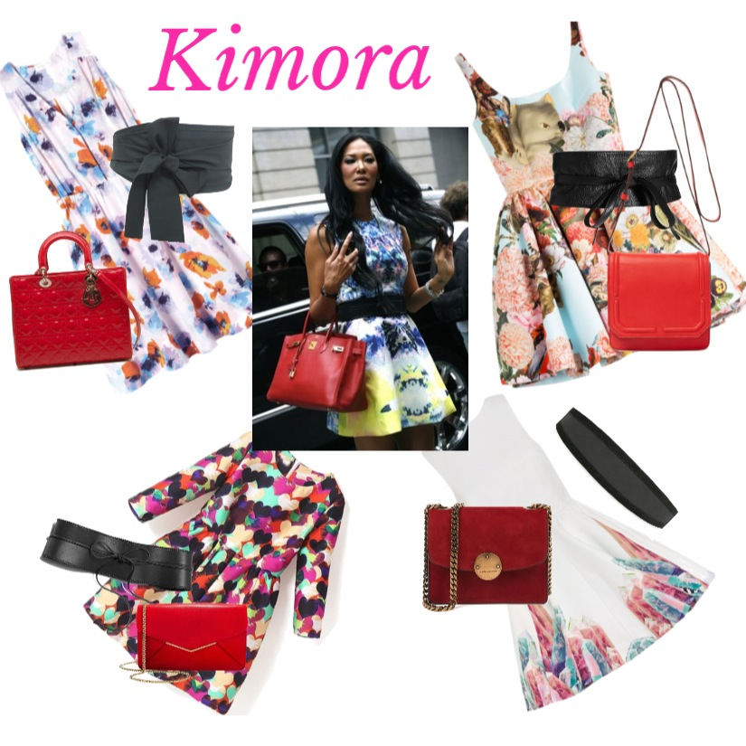 BlackGlamourMom Get The Look: Kimora Lee