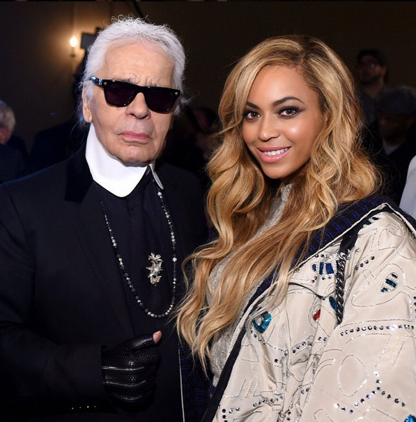 Beyonce in Chanel 3