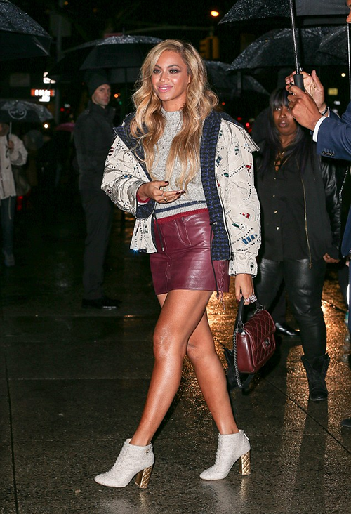 Beyonce in Chanel
