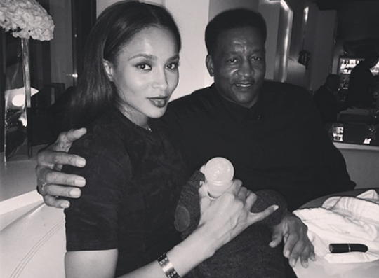 Ciara and Dad Nanny Image