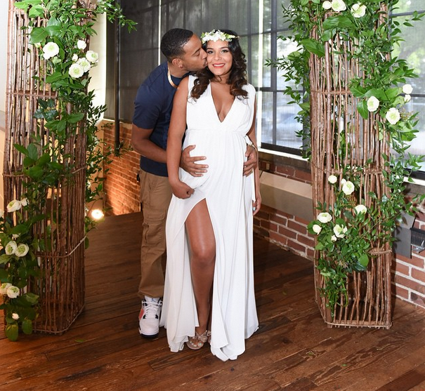 Celeb Baby Showers: Eudoxie & Ludacris Celebrate With Secret Garden Themed Shower