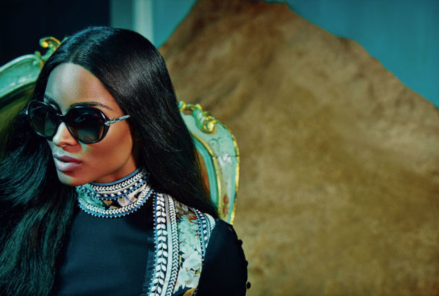 Glam Mommy Power Moves: Ciara New Face of Roberto Cavalli Ad Campaign