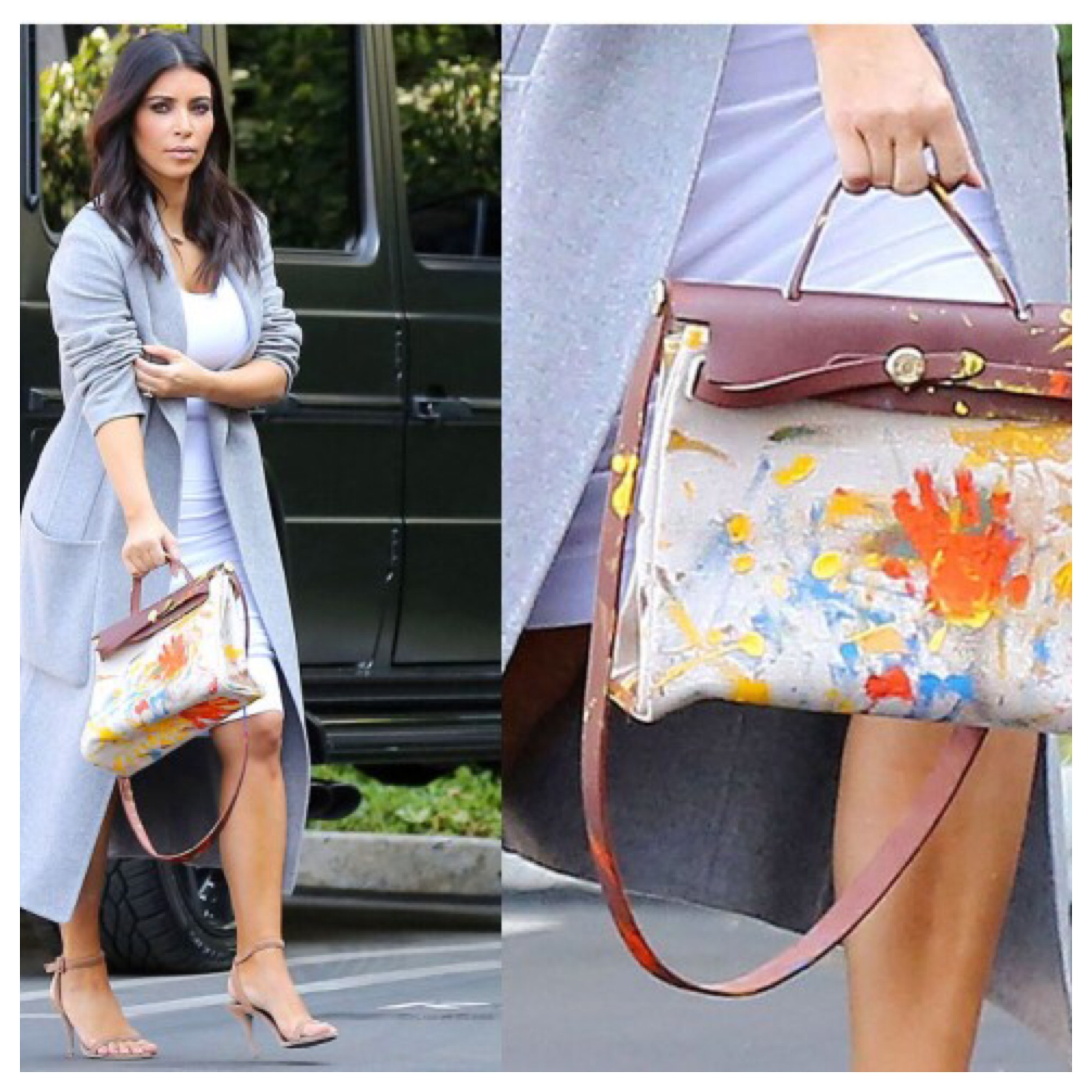 BlackGlamourMom Fashion Crush: HandPainted Handbags