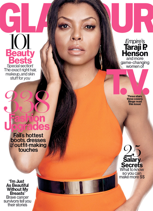 BGM Celebrity Dish: Taraji P. Henson Stuns on October Cover of Glamour Magazine